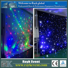 Christmas outdoor curtain lights Pixelflex Led Curtain Price photosensitive light sensor