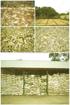 Dried Red Crab Shell for animal feed