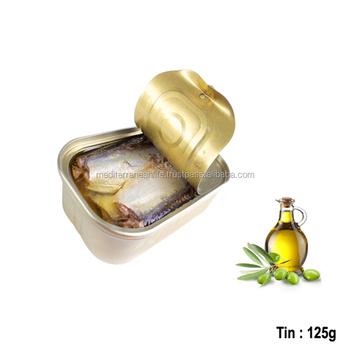 125 g Canned Sardines in Olive Oil,High Quality canned Sardines,Sardines in cans,Olive Oil 125g
