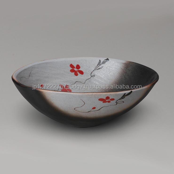 Ceramic wash bowl traditional arts and crafts from Japan