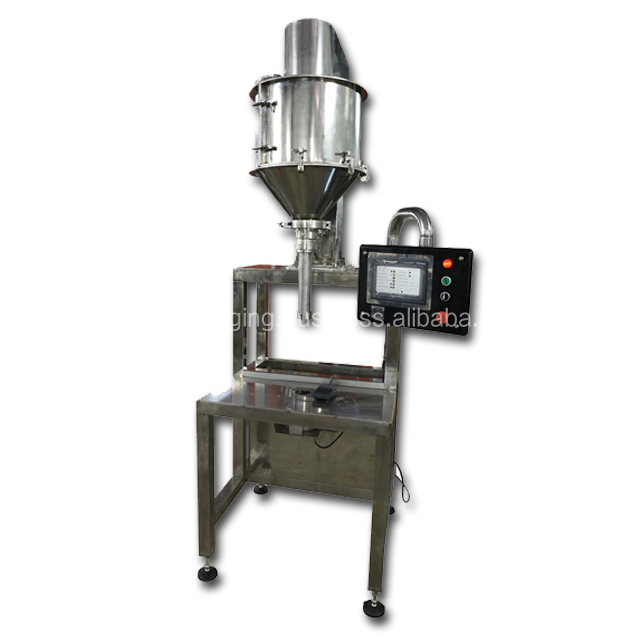 Semi-Automatic Auger Filling and Sealing Machine