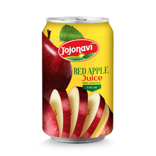 100% Natural red apple puree juice Tropical fruit juice 330ml