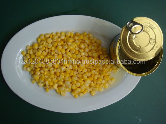 Fresh & Frozen Sweet Corn, organic canned corn, kernel, maize, tin corn, food,