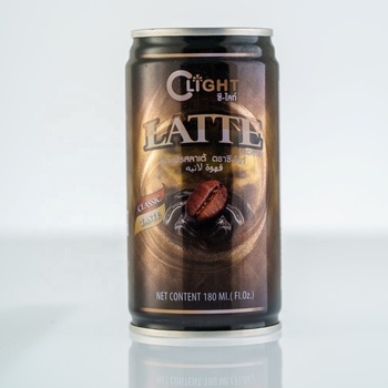 Coffee Ready Drink Latte canned 180ml C-Light brand