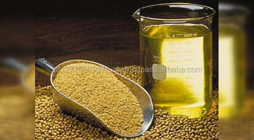 100% pure refined cooking soybeans oil