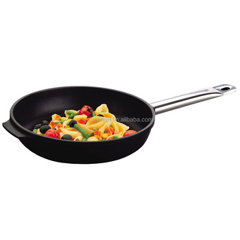 Non-stick professional Frying pan with hollow handle, big fry pan