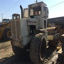 White Color Ingersoll-Rand Vibratory Used Road Roller SD100D Located in Shanghai Yard