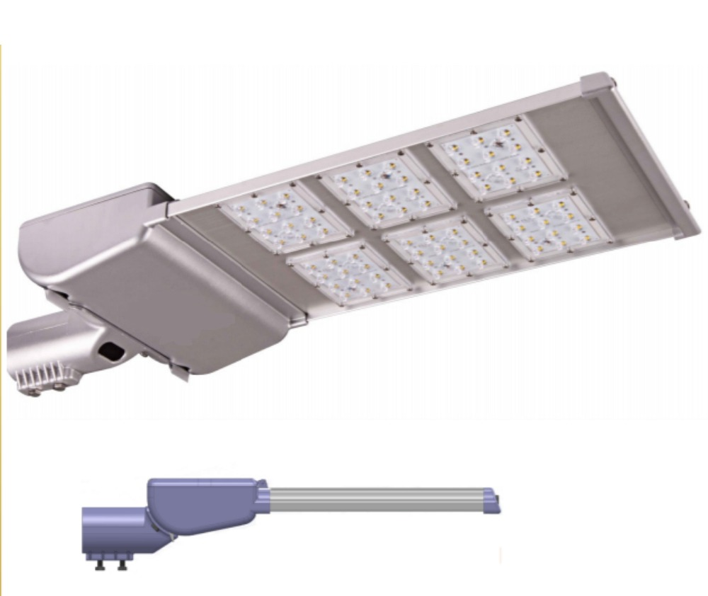SOLi 180W LED ROAD LIGHT 240VAC FIXTURE/ARMATURE/LUMINAIRE with Optical Lens