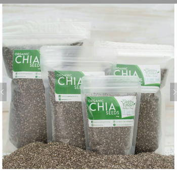 Organic certified Black Chia Seeds Also White Chia Seeds and Chia Flour High Quality