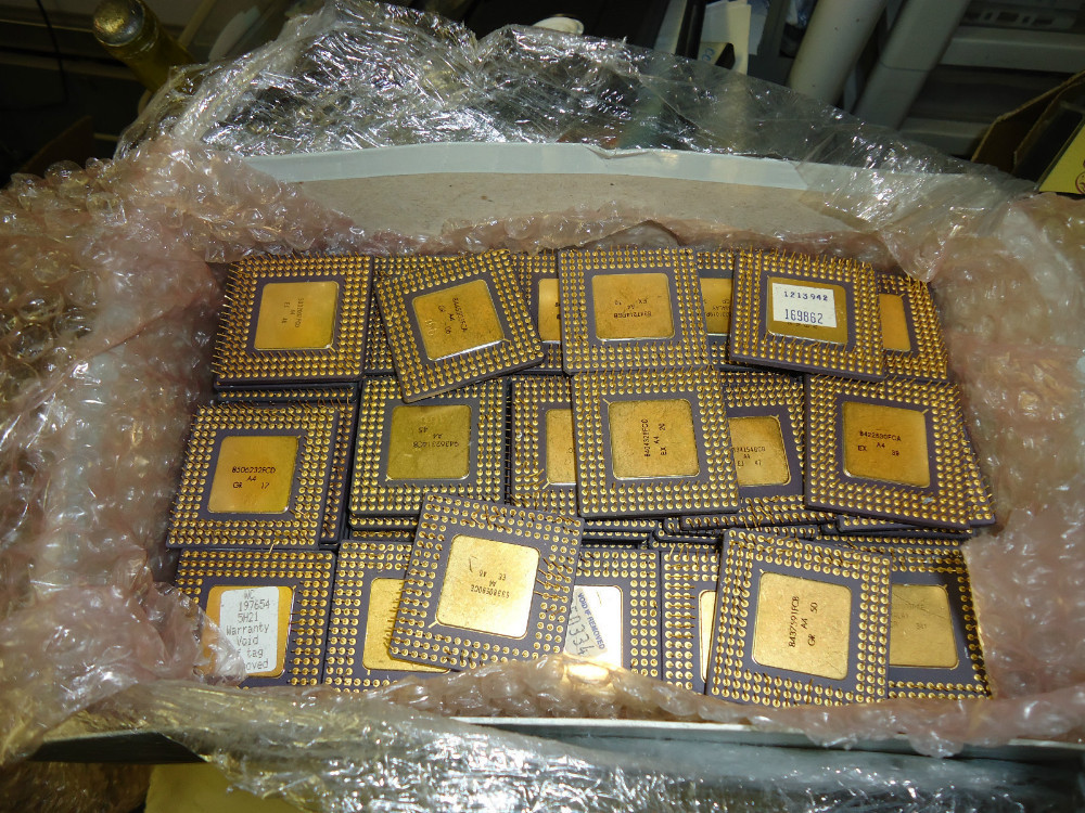 Ceramic processors cpu scrap for sale
