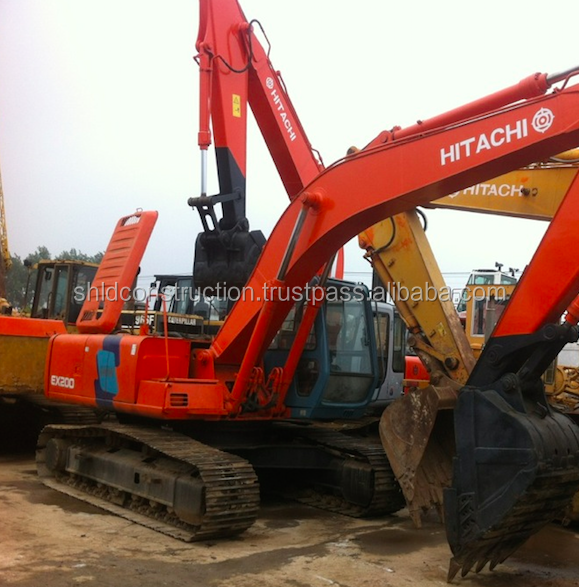 Used excavator Hitachi EX200-2 for selling with cheaper price ,EX200-3 ,EX200-6 ,Hitachi EX200-1 ,EX120-1 ,EX100-1,Hitachi EX60