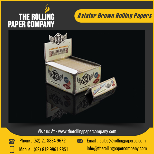 Best Quality Unbleached Rolling Paper for Tobacco