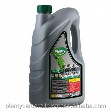 Radiator Coolant Antifreeze for Engine, Full Concentrated, Green