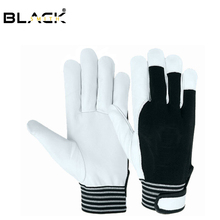 Stable quality top fit Assembly work PU gloves