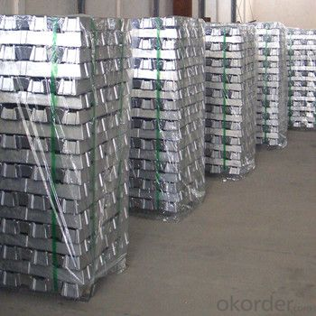 Nonferrous metal aluminium ingot with high-purity