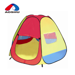 Wholesale 3 in 1 multifunctional red folding pop up kids beach tent with superior materials