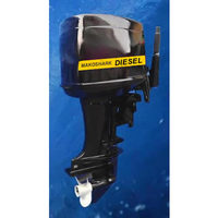 MakoShark Diesel Outboard Motors 4 to 40hp