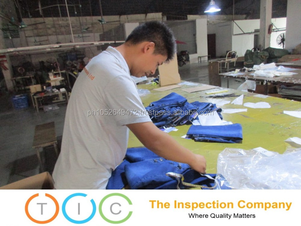 Third party inspection for quality control service readymade garments Sri Lanka