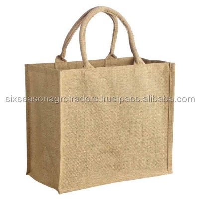 Jute shopping bag supplier from Bangladesh/ Natural fiber jute bag