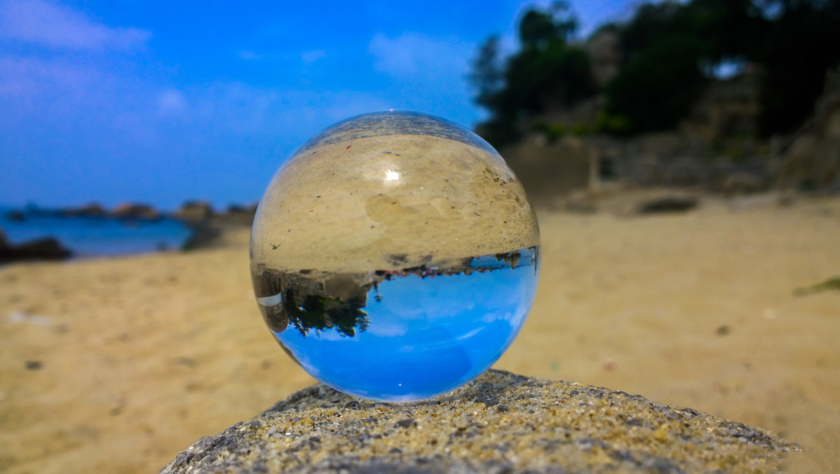 Transparent 60mm 80mm 100mm  round K9 crystal glass crystal ball for Photography crystal ball