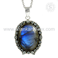 Flashy multi gemstone pendant 925 sterling silver pendants jewellery wholesale supplier