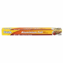 Foxlife aluminium foil roll packing wrapping for household and kitchen with food grade and SGS - (10 MT * 45 CM)