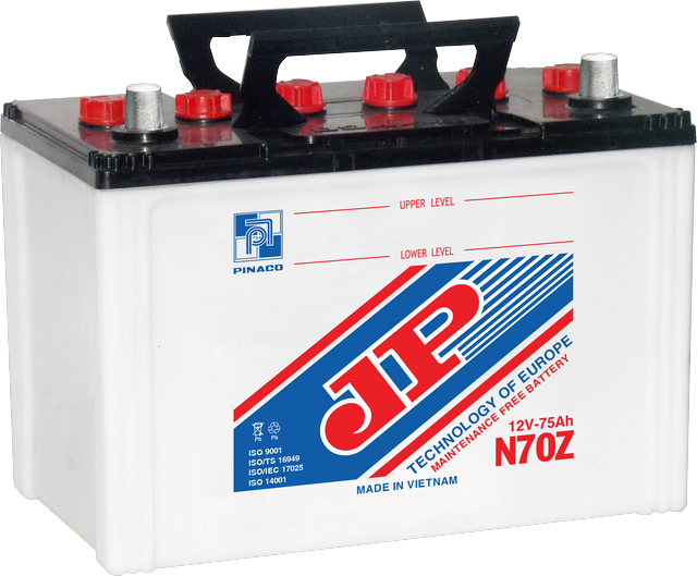N70Z (12V - 75Ah) Dry Charged Battery