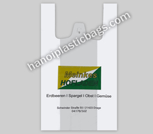 High quality Shopper handle Plastic bag