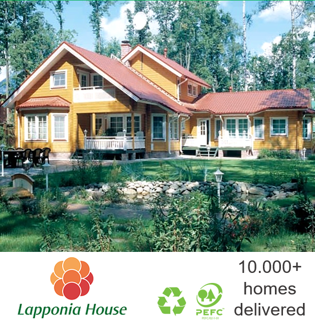 Healthy log home | ecological log house | award-winning log home | clean timber house | pre-fab house