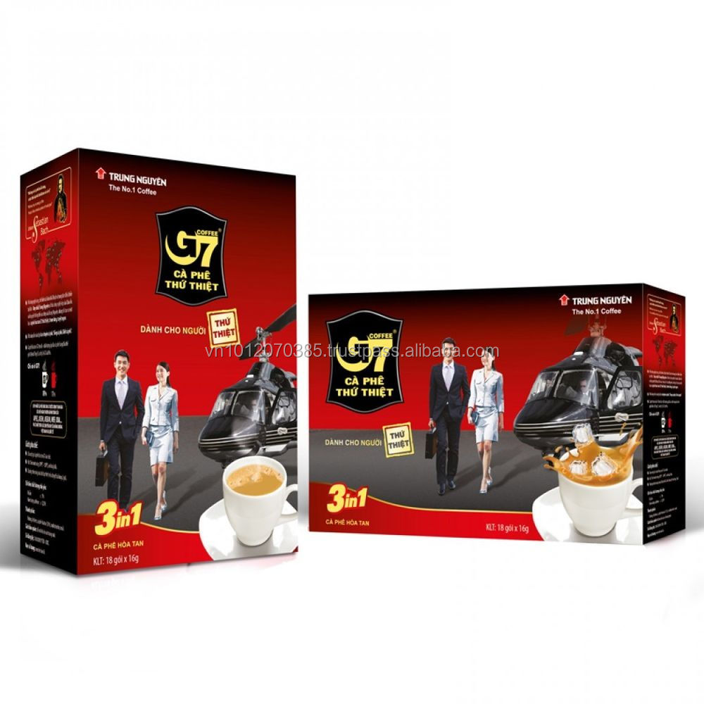 Vietnam coffee - G7 Coffee - G7 3in1 Instant Coffee