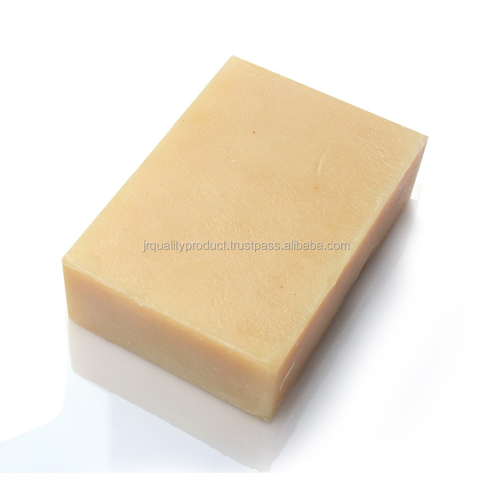 Natural handmade herbal turmeric soap