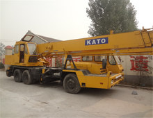 25T KATO Hydraulic Mobile Crane Original Japan Used Truck Crane 25ton