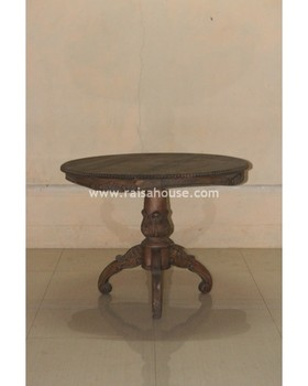 French Style Reproduction Furniture - Round Table Jepara Furniture
