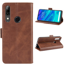 Cell Phone Case For Huawei P Smart <strong>Z</strong> Leather Wallet Card Holder Stand Case Flip Cover