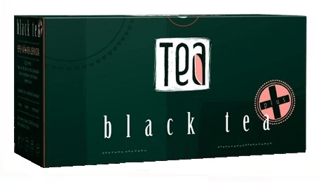 Black Tea With Ginseng & Kola Nuts, Packed In 20 Filter Tea Bags. Only In Private Label. Made in EU