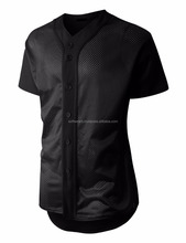 Russell Athletic Mens Faux Full Button Placket Baseball Game Jersey