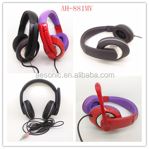 customized PC headset with classic style
