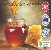Australian certified organic honey - bulk