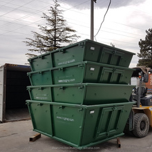 Australia type Skip bin Container 6 m3 Skip bin New zealand