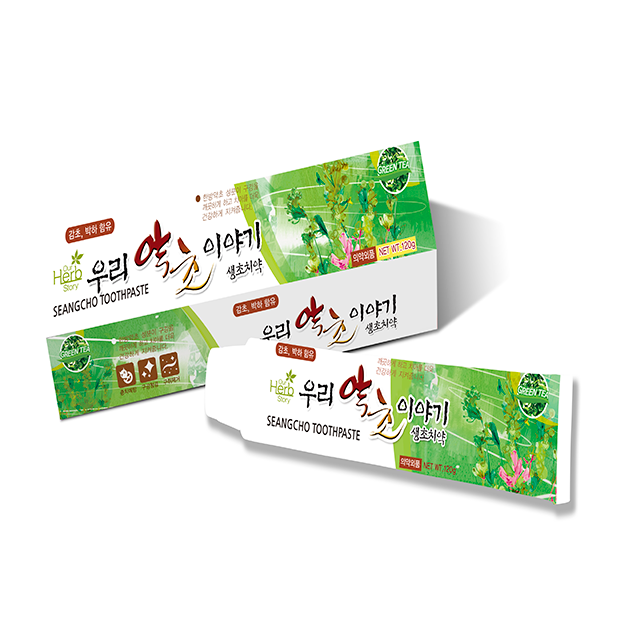 Seangcho(fresh herb) Toothpaste
