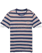 Horizontal Striped Polo T-shirt