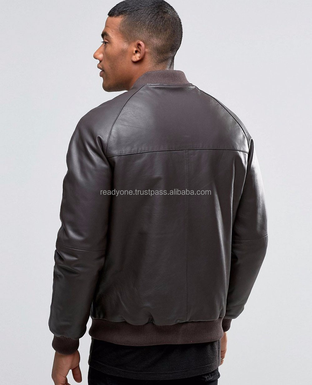 New fashion Slim Fit Men Leather Jacket / Pakistan Leather Jackets Online
