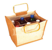 Wine Bottle Bag 6 Gift Tote Bags Party Wedding Pack Bottles Wrap Reusable