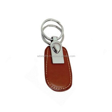 Genuine Leather Keychain Keys, Fashion Car Key Ring Metal Key Chain