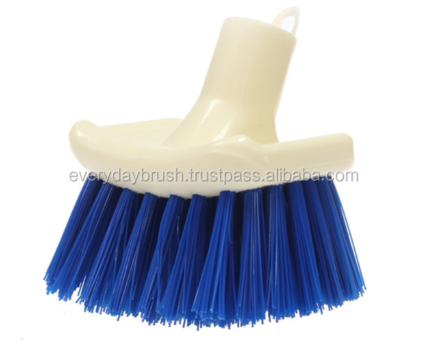 Low Price High Quality Plastic Radial Drain Scrub Brush
