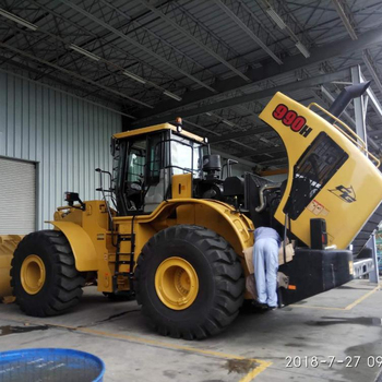 New Wheel Loader CG990H Made in China 9 ton