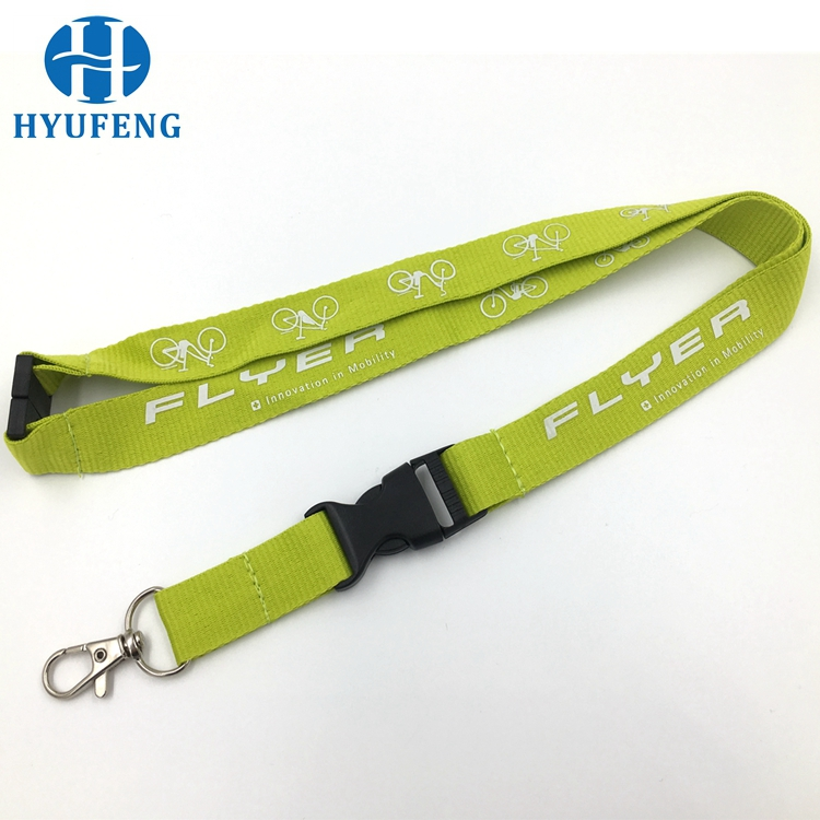 Custom Polyester Neck Ribbon Lanyard With Id Card Holder For Sport Event