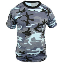 Camouflage T Shirts - 100% Cotton Camouflage Reactive Printing camouflage t shirts T-Shirt