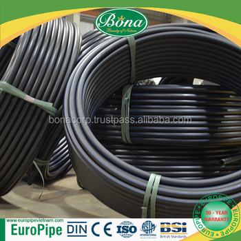 HDPE pipe 25mm PN12.5 PN16 PN25 best quality