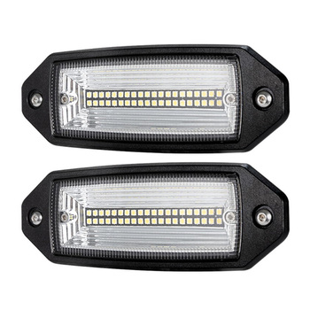 Flush Mount LED Licht Schoten, 2 Pcs 7 Zoll Flut LED Licht Bar Driving Off Road Arbeit Licht für Traktor SUV ATV UTV